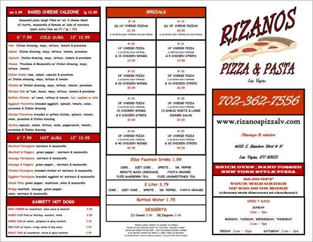 RizanosPizza